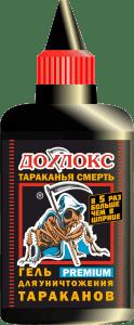 Флакон Премиум 100 124x300 - Дохлокс Тараканья Смерть, гель от тараканов 100 мл. Премиум линия